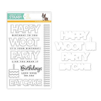 CZ Design Coordinating Set BIRTHDAY PALOOZA czset6