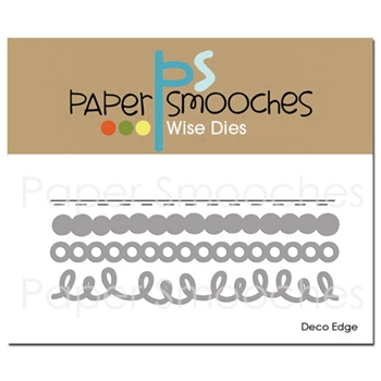 Paper Smooches DECO EDGE Wise Dies NOD415