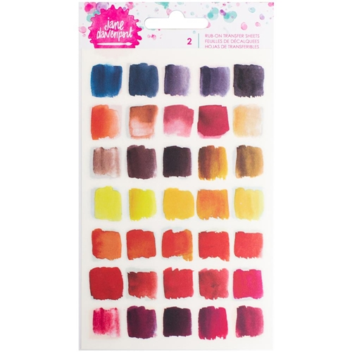 Jane Davenport BRIGHTS Rub-Ons Mixed Media 376690 Preview Image