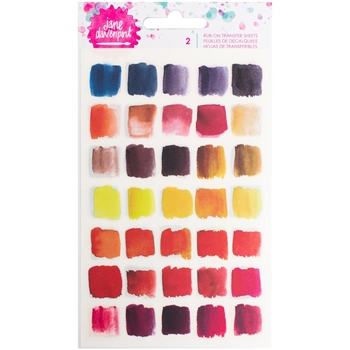 Jane Davenport BRIGHTS Rub-Ons Mixed Media 376690