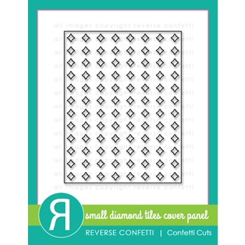 Reverse Confetti Cuts SMALL DIAMOND TILES Cover Panel