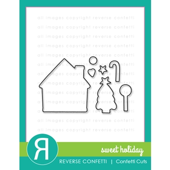 Reverse Confetti Cuts SWEET HOLIDAY Die Set