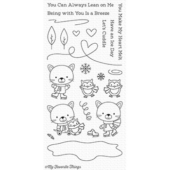 My Favorite Things YOU MAKE MY HEART MELT Clear Stamps CS248