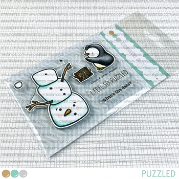 Create A Smile SANTA CLUMSY Clear Stamps clcs61