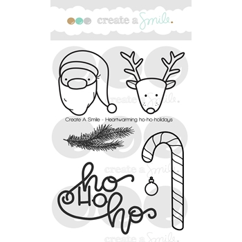 Create A Smile HEARTWARMING HO-HO-HOLIDAYS Clear Stamps clcs67
