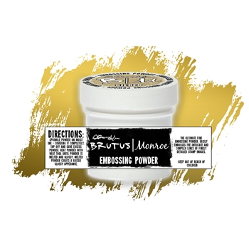 Brutus Monroe GILDED Ultra Fine Embossing Powder BRU2487