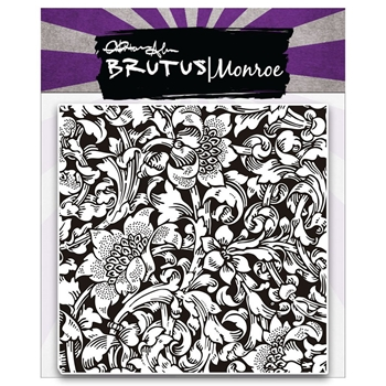 Brutus Monroe Clear Stamps BAROQUE BACKGROUND BRU1014