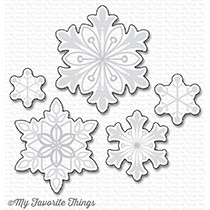 My Favorite Things SNOWFLAKE SPLENDOR Die-Namics MFT1198