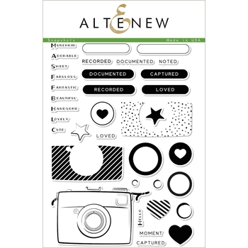 Altenew SNAPSHOT Clear Stamp Set ALT1953