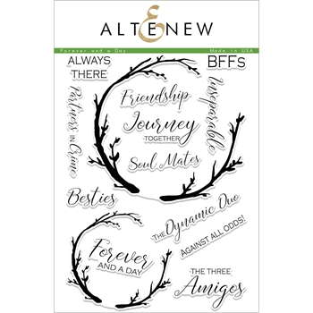 Altenew FOREVER AND A DAY Clear Stamp Set ALT1948