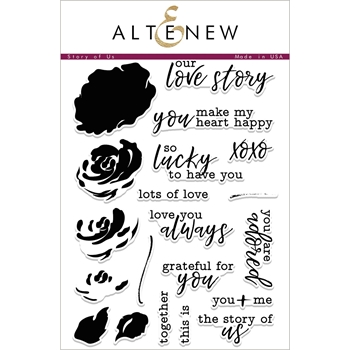 Altenew STORY OF US Clear Stamp Set ALT1954