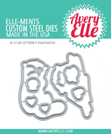 Avery Elle Steel Dies OTTERLY FANTASTIC D-17-45 Preview Image