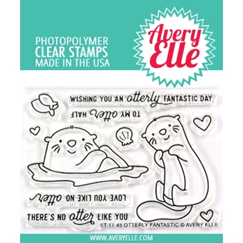 Avery Elle Clear Stamps OTTERLY FANTASTIC ST-17-45