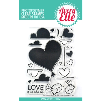 Avery Elle Clear Stamps LOVE IS IN THE AIR ST-17-40