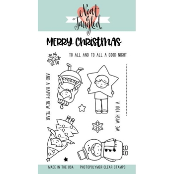 Neat and Tangled CHRISTMAS PAGEANT Clear Stamp Set