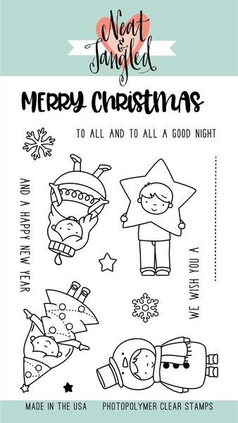 Neat & Tangled Christmas Pageant Stamp Set