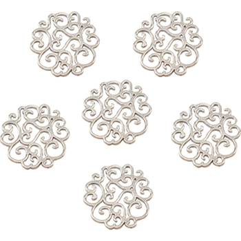 Couture Creations SCALLOPED DOILY Metal Charms Bohemian Bouquet ult158046