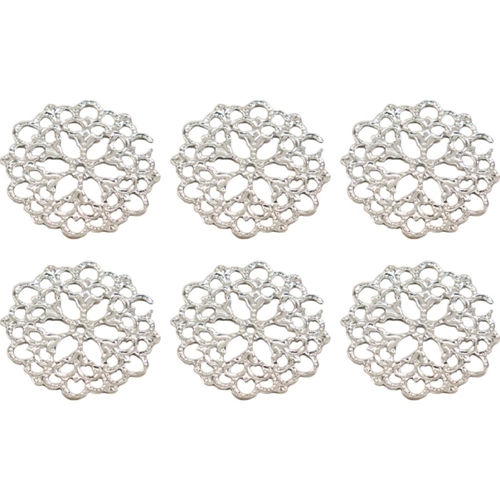 Couture Creations PETAL DOILY Metal Charms Bohemian Bouquet ult158045* Preview Image