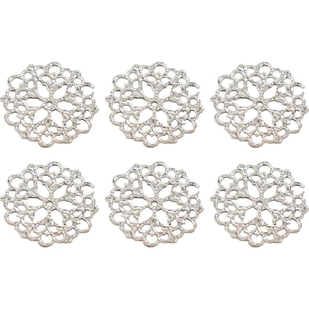 Couture Creations PETAL DOILY Metal Charms Bohemian Bouquet ult158045* zoom image