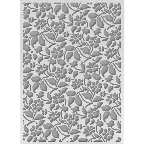 Couture Creations FIELD OF DAISIES Embossing Folder Bohemian Bouquet Ultimate Crafts ult158034 Preview Image