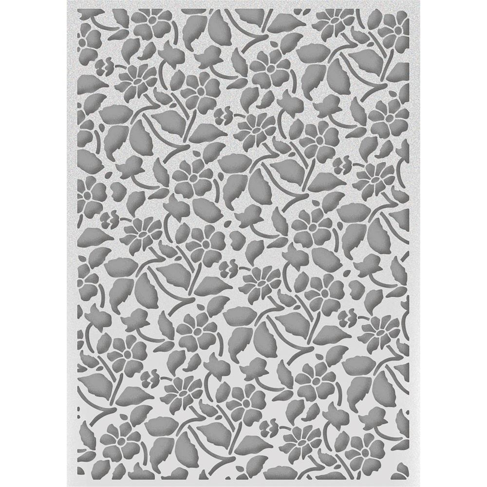 Couture Creations FIELD OF DAISIES Embossing Folder Bohemian Bouquet Ultimate Crafts ult158034 zoom image