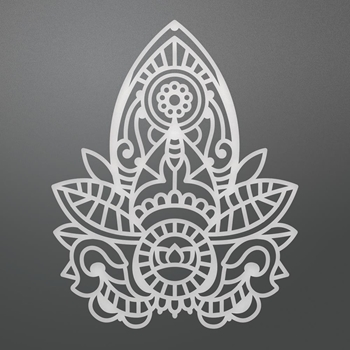 Couture Creations HENNA MOTIF Die Bohemian Bouquet Ultimate Crafts ult158062