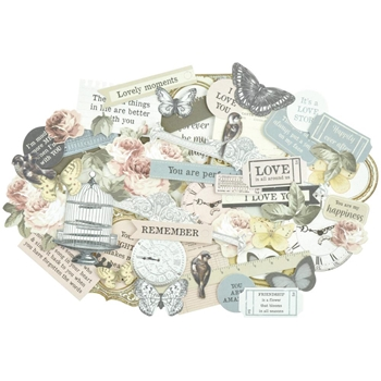 Kaisercraft ROMANTIQUE Collectables Die Cut Shapes CT894