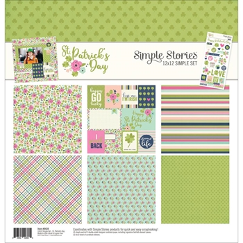 Simple Stories ST. PATRICK'S DAY 12 x 12 Collection Kit 9439