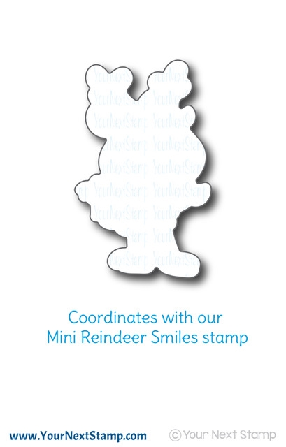 Your Next Die MINI REINDEER SMILES ynsd684* zoom image