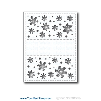 Your Next Die SNOWFLAKE PANEL ynsd705