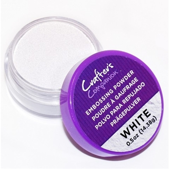 Crafter's Companion WHITE Embossing Powder cc-embpow-wh