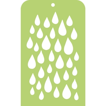 Kaisercraft RAINDROP Mini Designer Template Stencil IT025