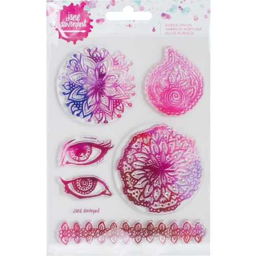 Jane Davenport ACRYLIC STAMPS Mixed Media 2 320815 Preview Image