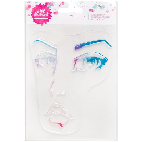 Jane Davenport SINGLE FACE Clear Stamps Mixed Media 376687 Preview Image