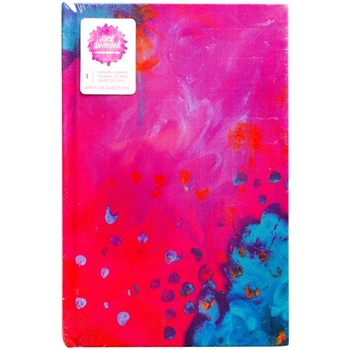 Jane Davenport MULTIPRINT 9x6 Inch Mixed Media Canvas Cover Journal 376705