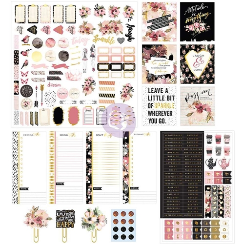 Prima Marketing MIDNIGHT BLOOM Planner Kit 596392 Preview Image