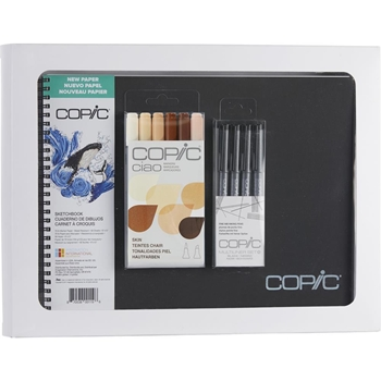Copic Limited Edition CIAO SKETCHBOOK KIT FACES SKIN & HAIR COLORS 008089