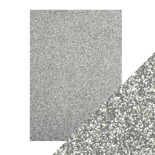 Tonic SILVER SCREEN A4 Glitter Cardstock 9941e Preview Image