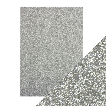 Tonic SILVER SCREEN A4 Glitter Card 9941e
