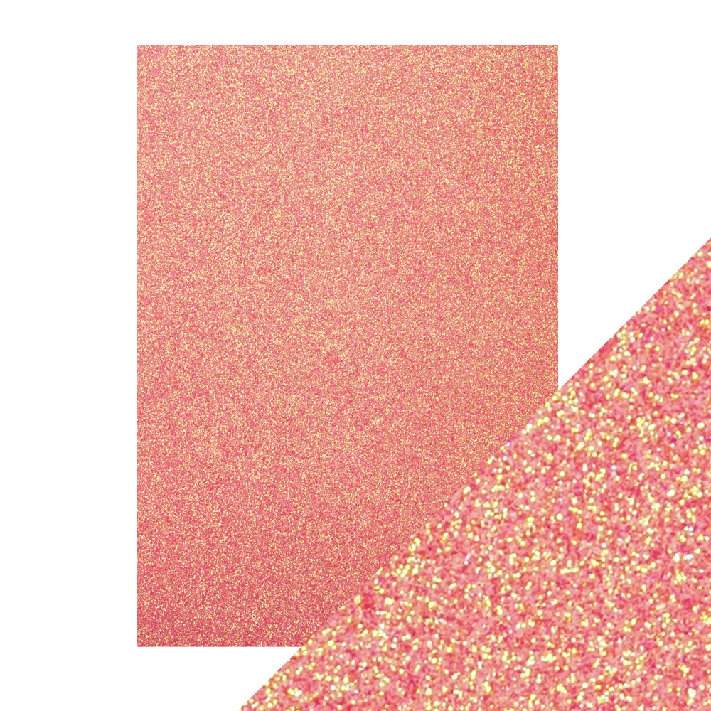 Tonic CANDY FLOSS A4 Glitter Cardstock 9951e zoom image
