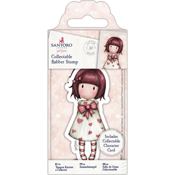 DoCrafts LITTLE HEART Mini Cling Stamp Gorjuss 907156