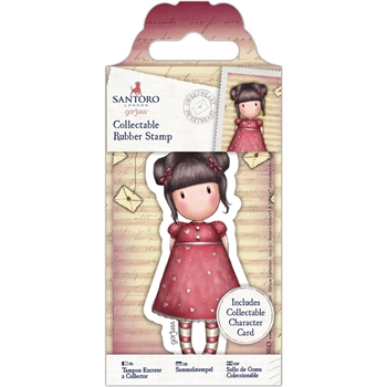 DoCrafts SWEETHEART Mini Cling Stamp Gorjuss 907153