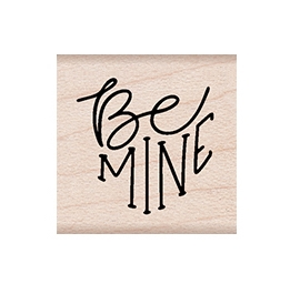 Hero Arts Rubber Stamps BE MINE MESSAGE A6267