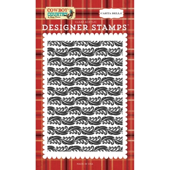 Carta Bella CALICO DAMASK Clear Stamp Set cbcc77044