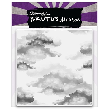 Brutus Monroe Clear Stamps CLOUDS BACKGROUND BRU1083