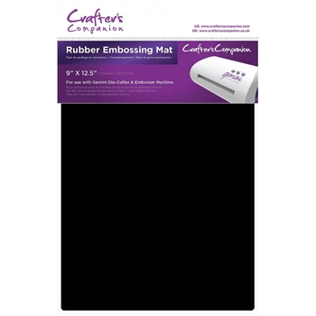 Crafter's Companion 9 x 12.5 RUBBER EMBOSSING MAT Gemini gem-acc-rubm