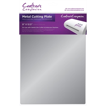 Crafter's Companion 9 x 12.5 METAL CUTTING PLATE Gemini gem-acc-metp