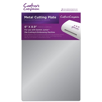 Crafter's Companion 6 x 8.9 METAL CUTTING PLATE Gemini Junior gemjmetp