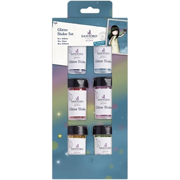 DoCrafts GLITTER SHAKER SET Gorjuss 40140
