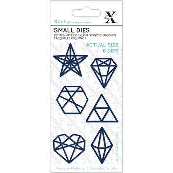 DoCrafts GEOMETRIC SHAPES XCut Die Set 54115